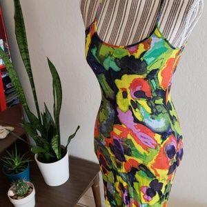 RACHEL Rachel Roy Dresses - Rachel Roy watercolor slip dress